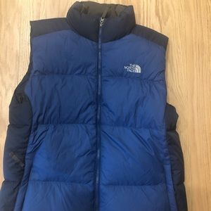 Men's North Face Puffy vest